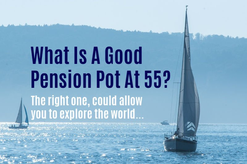 Explore The World with A Good Pension Pot at 55