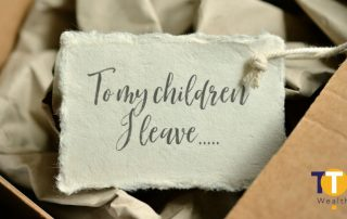 Inheritance Tax Gifts - To My Children...