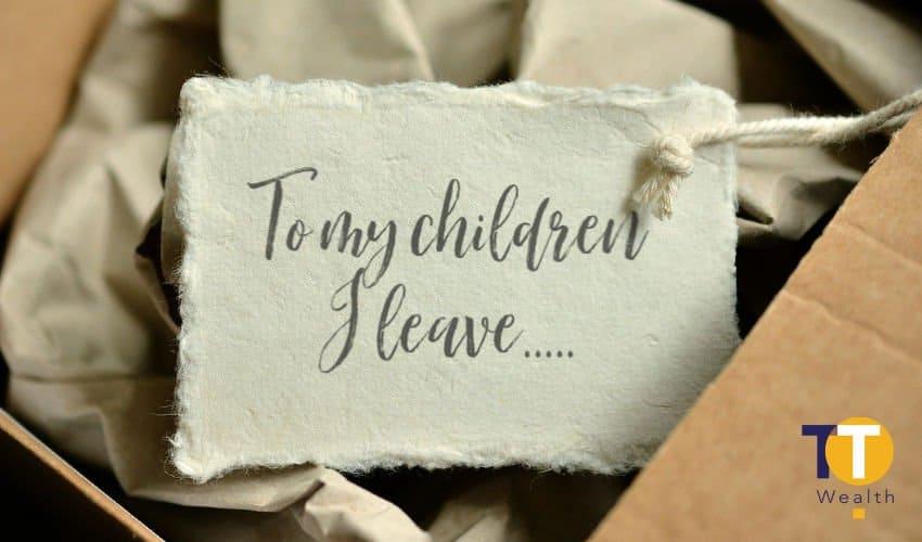 Inheritance Tax Gifts - To My Children...