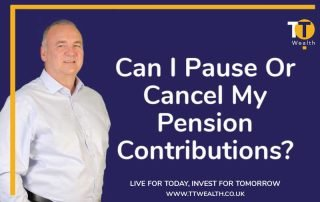 Pause of Cancel Pension Contributions